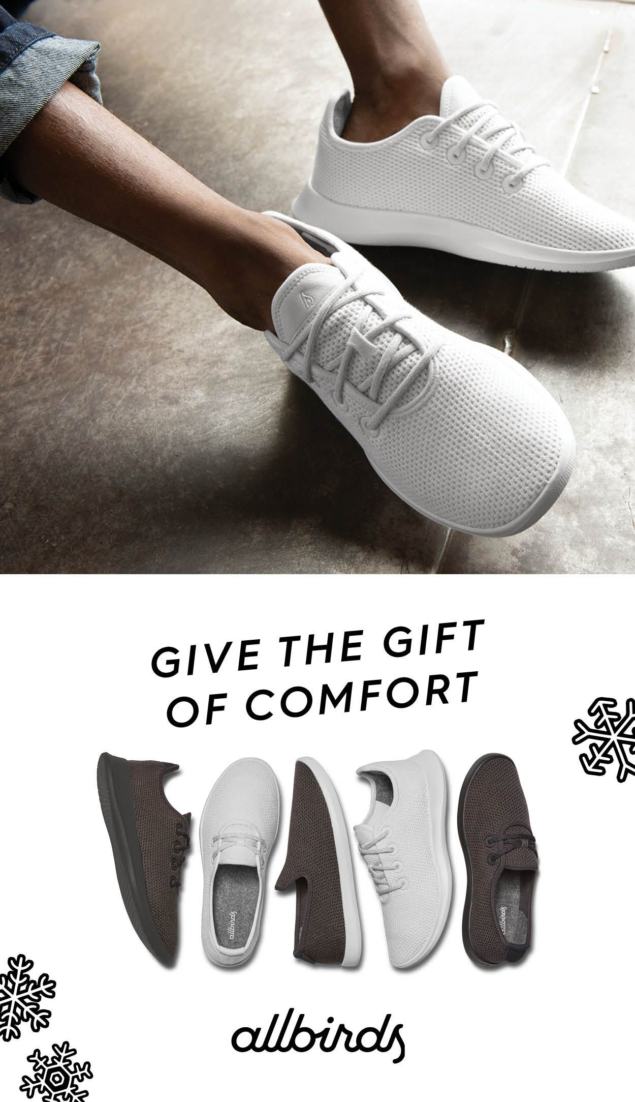 61b056d6ff5 Give the gift of the world's most comfortable shoes. Free shipping ...