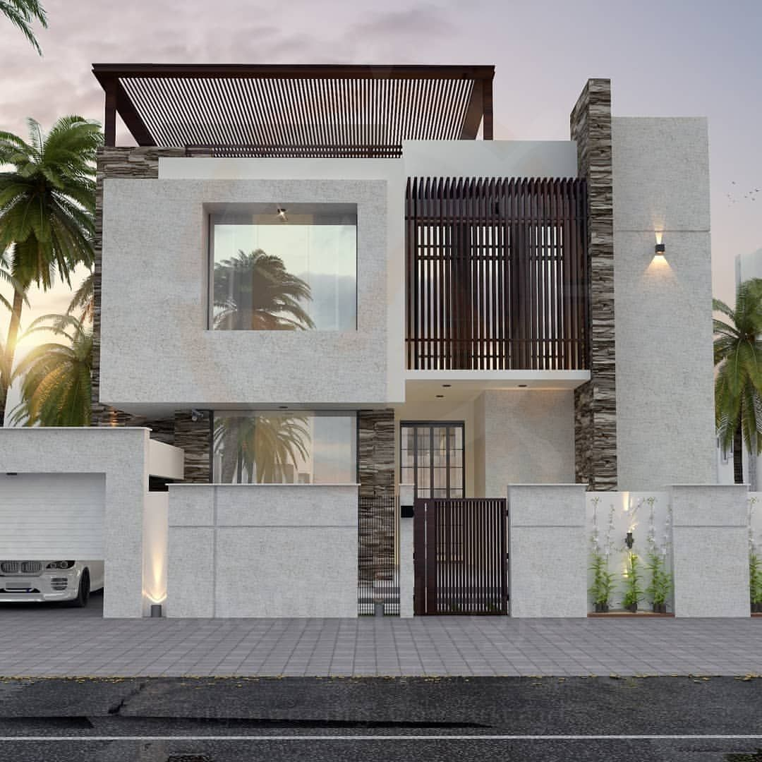 Pin By Aamir Ali On S86 Facade House Bungalow House Design