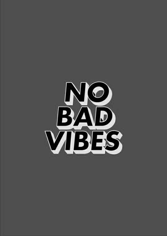 No Bad Vibes - Black clearance excellent cheap sale perfect free shipping cost aPSBUE