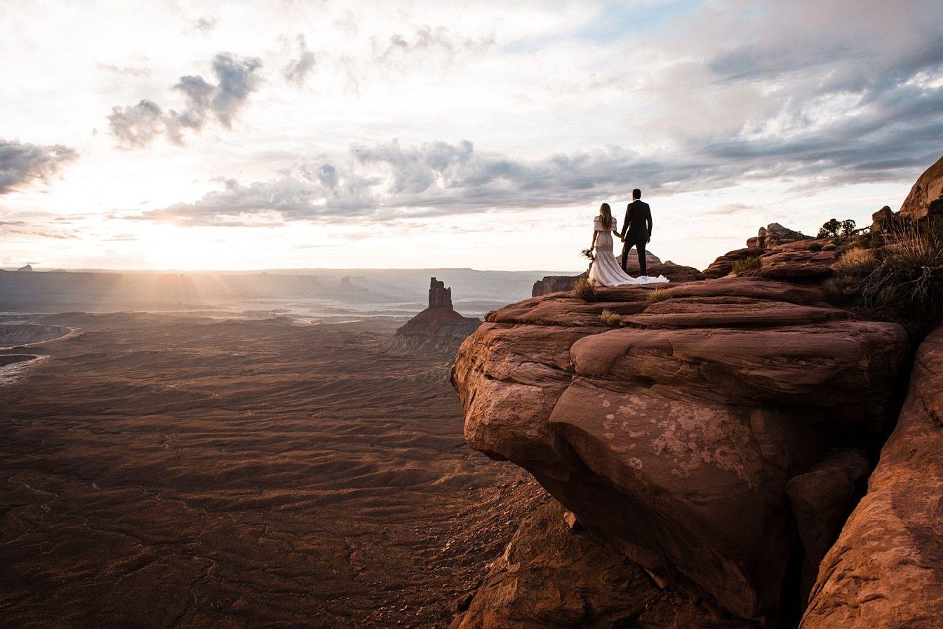 Utah Elopement in Moab National Parks National parks