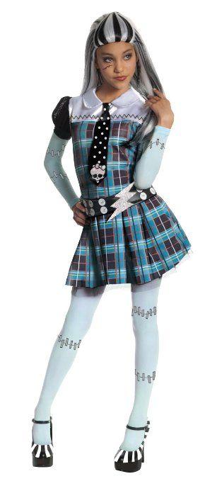 Rubies 3 884786 L Frankie Stein Kind Kostum Large 8 10 Jahre
