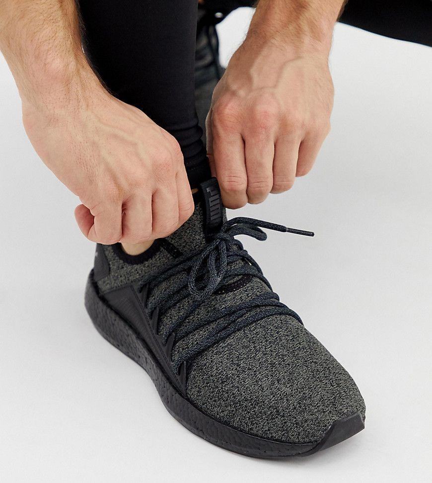 Puma Nrgy Neko Knit Sneakers - Black