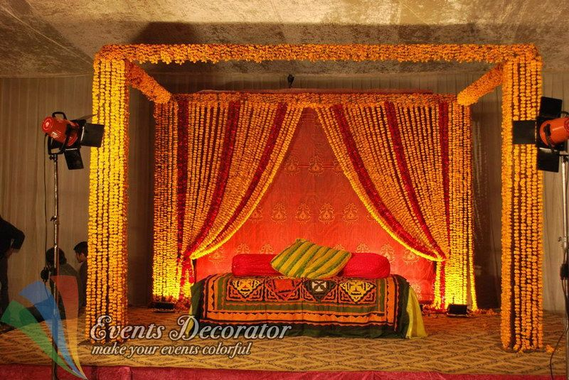New Mehndi Decoration : Stage decorating 11.jpg 800×535 wedding ideas pinterest