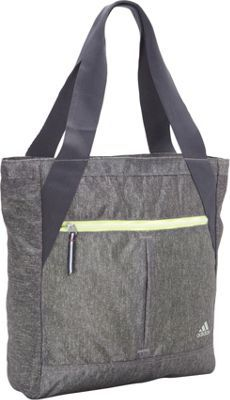 adidas Fearless Tote Heather Granite Clear Grey Frozen Yellow - via  eBags.com! 40123fde9f06f