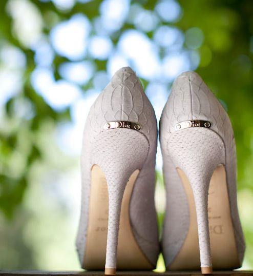 Dior Wedding shoes to die for