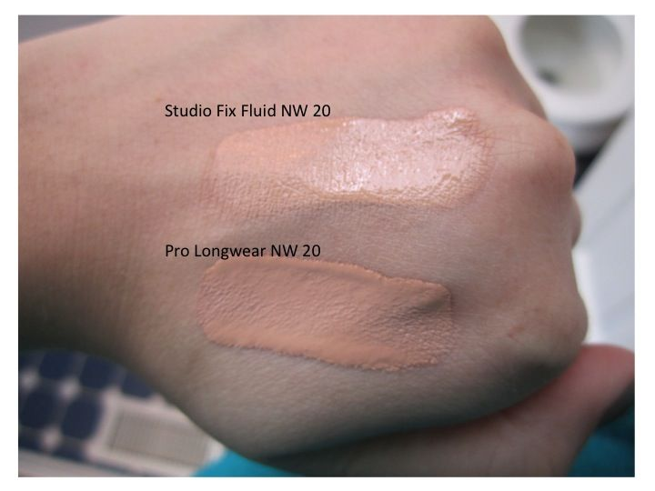 mac pro longwear spf 10 foundation nw20