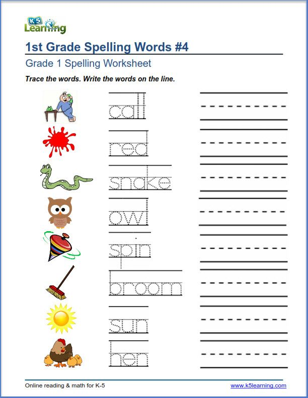 Trace And Write Spelling Words Spelling Worksheets Grade Spelling Easy Math Worksheets