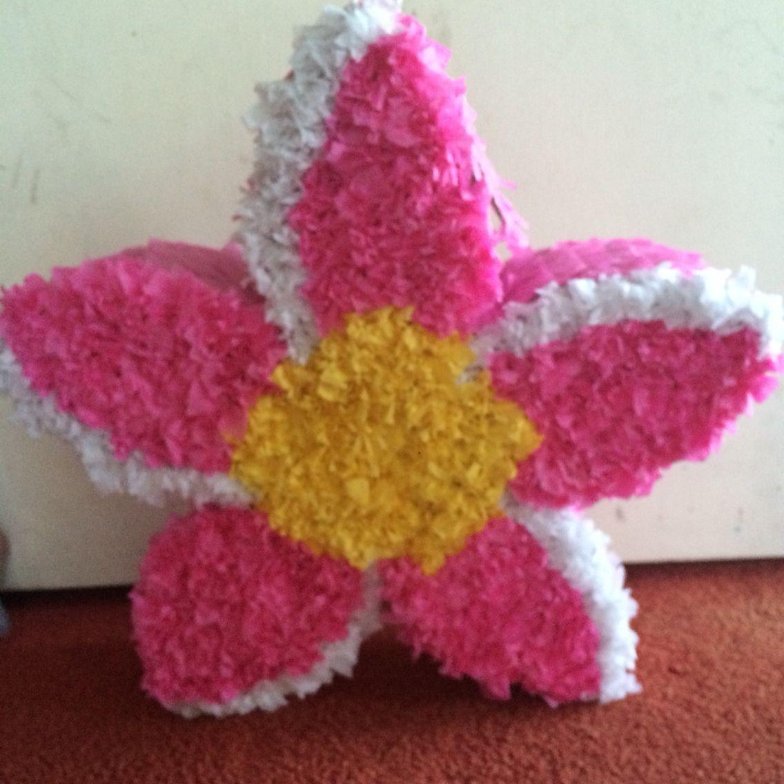 Plumeria flower pinata:]]