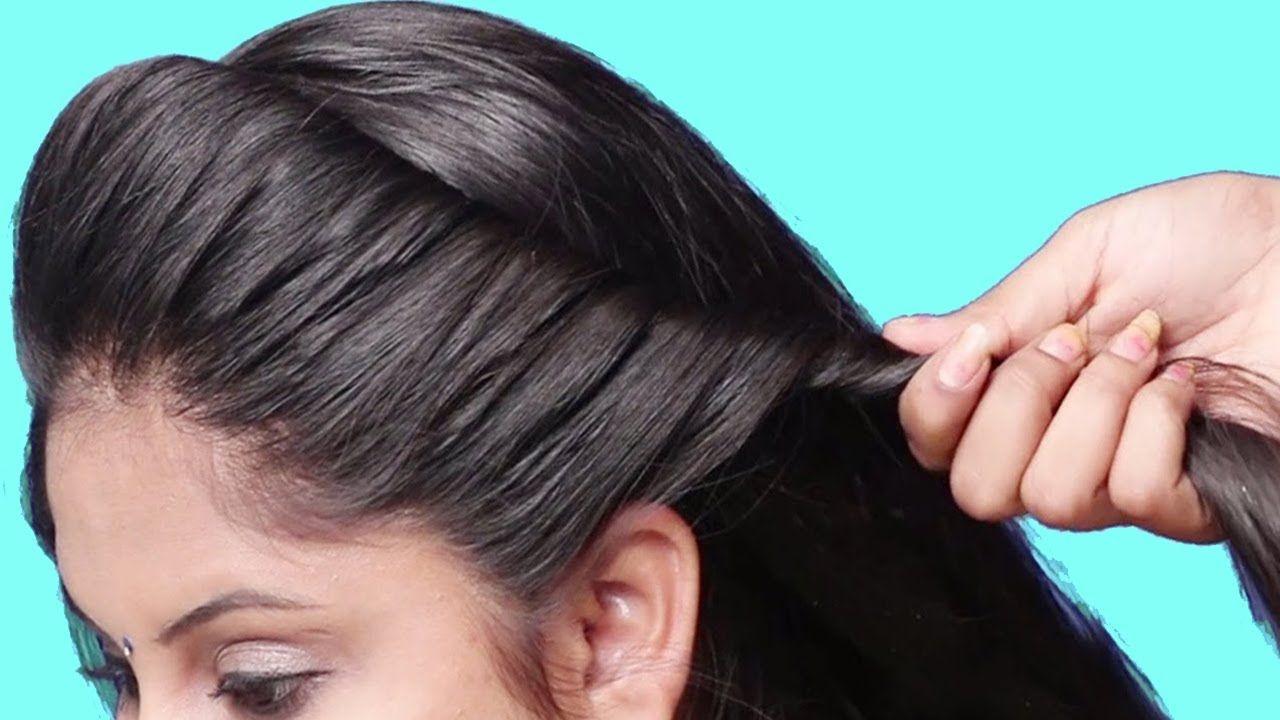 Best Hairstyles For Medium Hair Girl Simple Easy Hairstyles Girls Party Hairstyles For Girls Simple Wedding Hairstyles Traditional Hairstyle