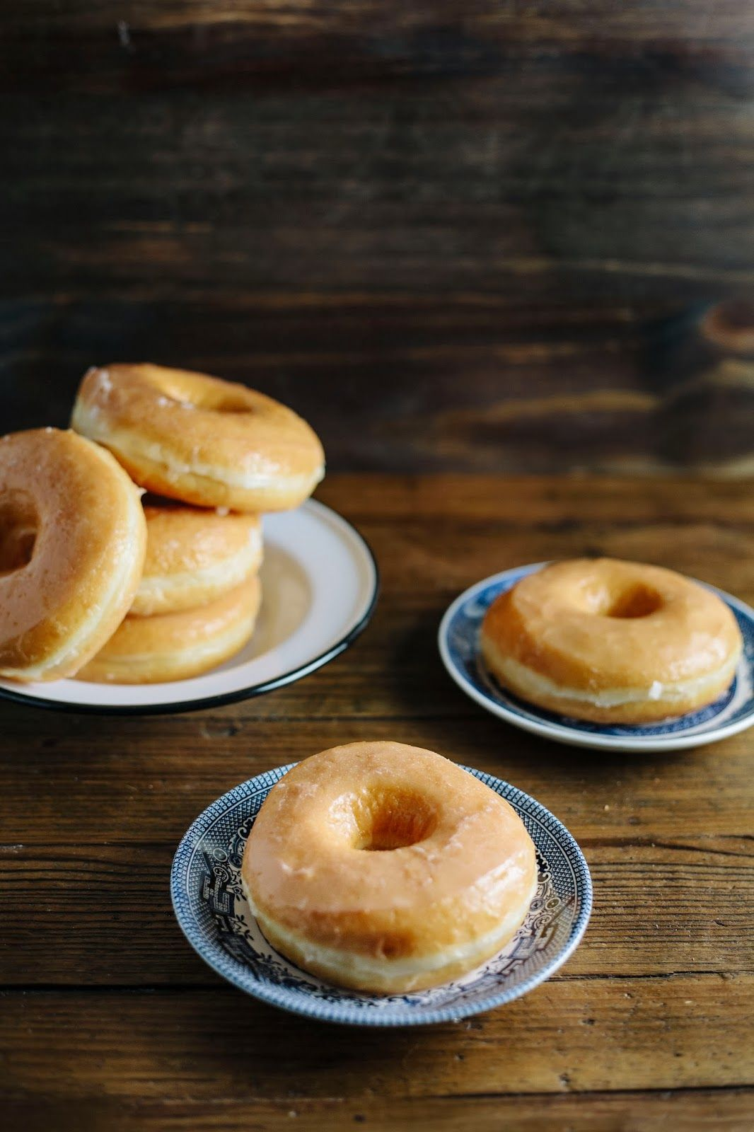 Brioche Donuts With Honey Glaze Brioche Donuts Food Donut Recipes