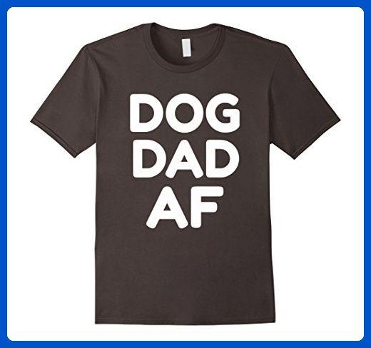 daab21c5c Mens Dog Dad AF Pupper Doggo Daddy Furrbaby #Dogdadaf Large Asphalt -  Relatives and family shirts (*Amazon Partner-Link)