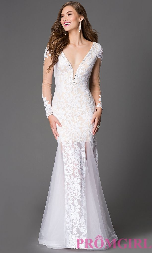 long sleeve open back prom dress - most expensive prom dress Check ...