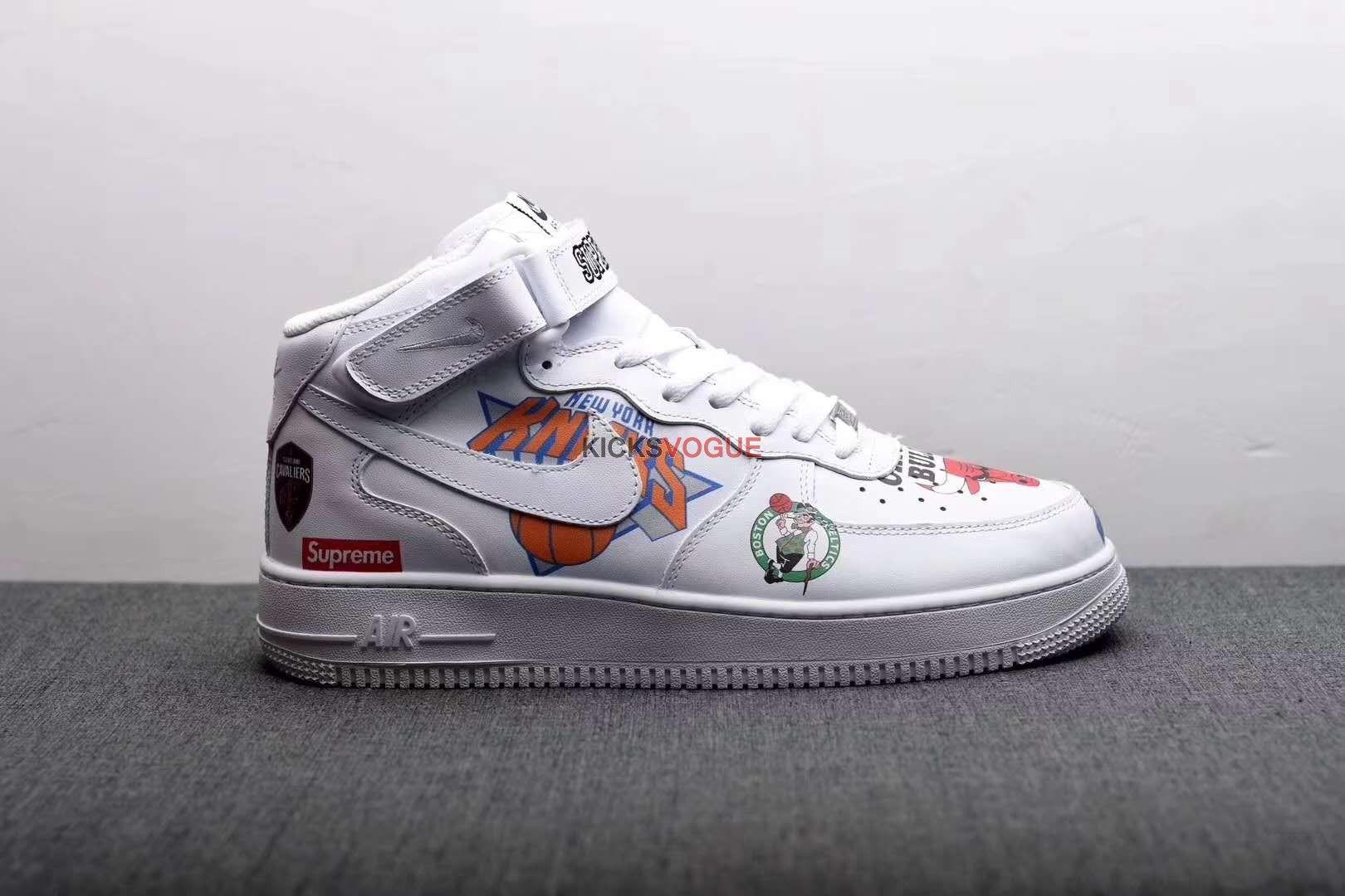 3e1420999ed0d Supreme x NBA x Nike Air Force 1 Mid