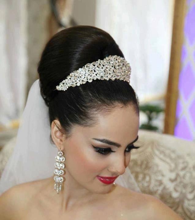 Épinglé par Mia El sur My wedding en 2019 Coiffure