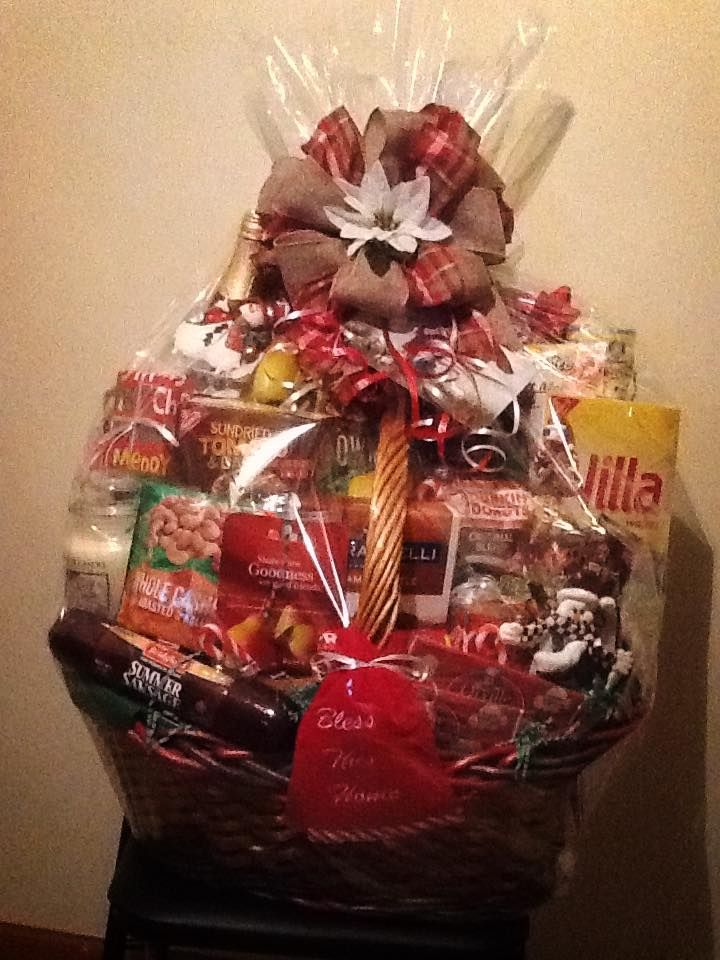 Jumbo Christmas Gift Basket Pastor Appreciation 2015 - Bless This ...