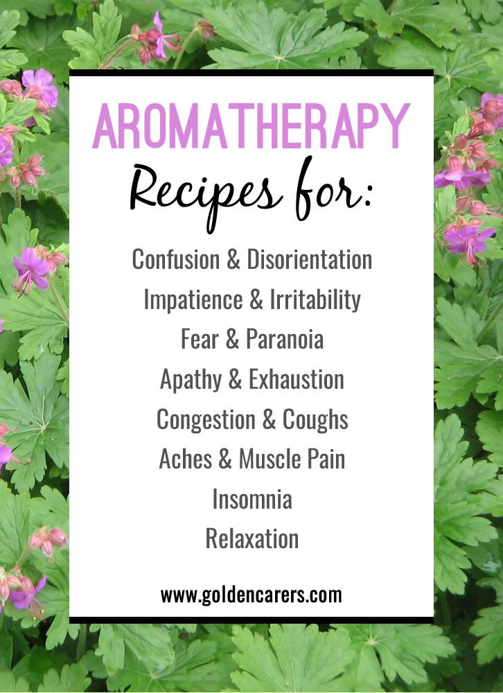 Aromatherapy Recipes | Activities, Aromatherapy recipes and Living ...