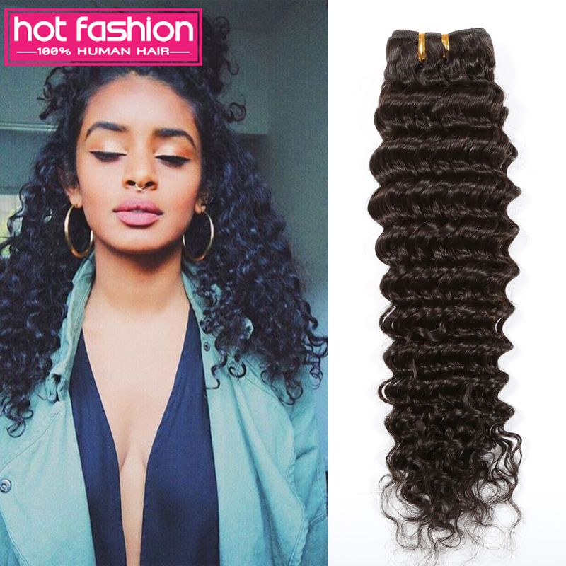 Find more human hair extensions information about grade 7a find more human hair extensions information about grade 7a unprocessed virgin hair brazilian deep wave hairstyles urmus