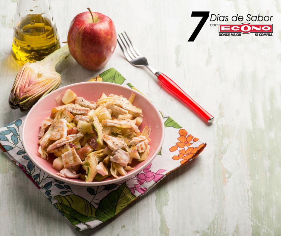 Martes+-+Pechuga+de+pollo+con+manzanas+-+7+días+de+Sabor+con+ECONO