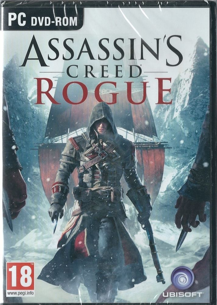 Details About Assassin S Creed Rogue Pc Dvd Brand New