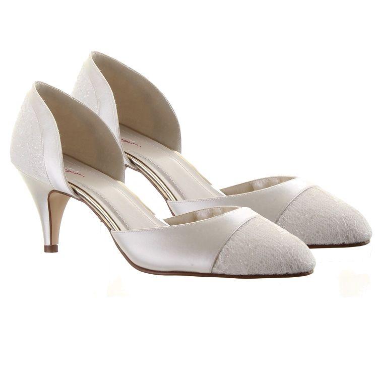 Rainbow Club Wide Fit Aspen Wedding Shoes Crystal Bridal Accessories