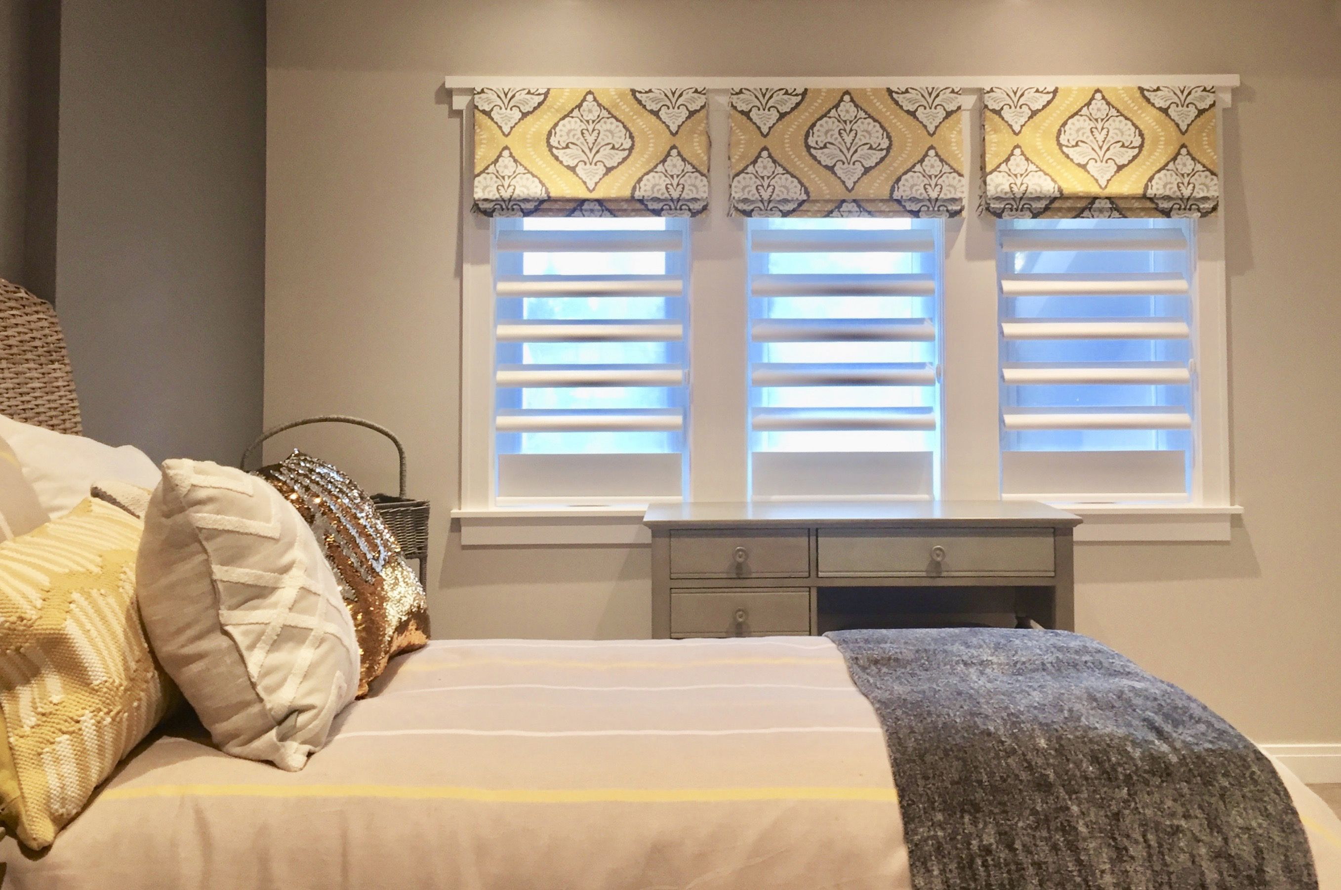 Creative window coverings  gillian  the flexibility with roman shades allows you to be