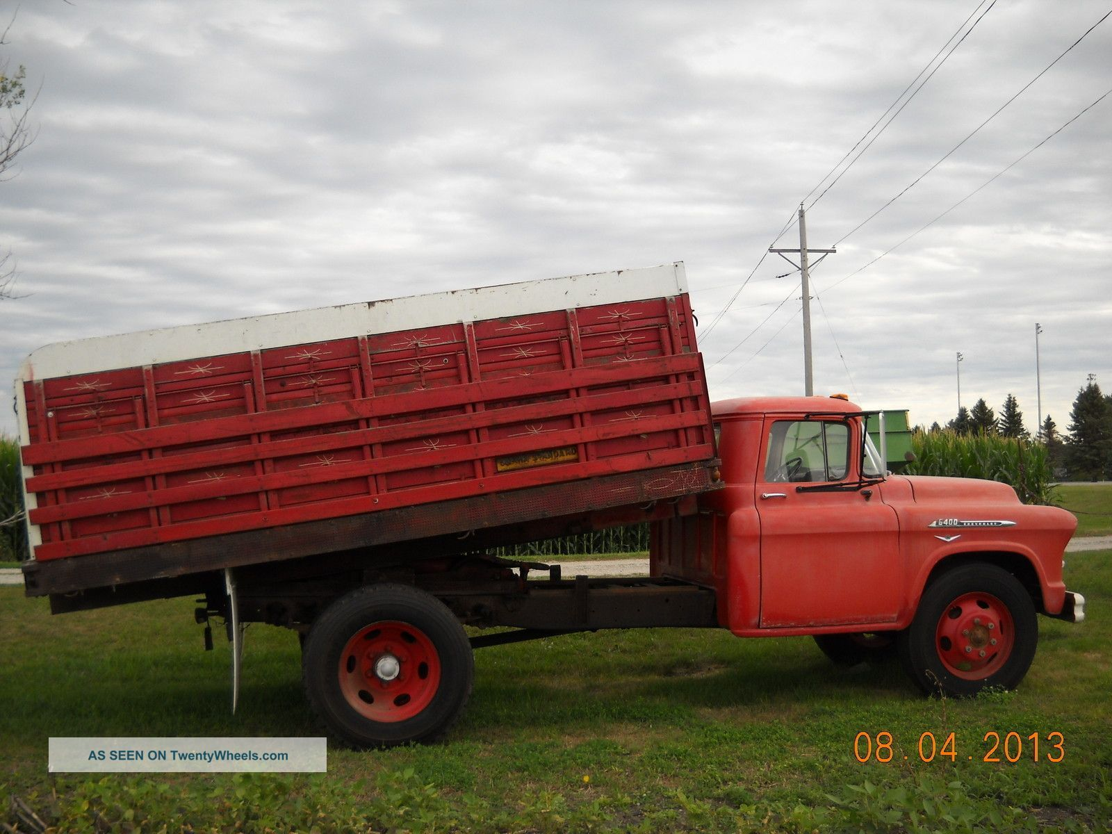 1956 chevy 6400 truck 1956 chevrolet chevy 6400 dump trucks photo 3