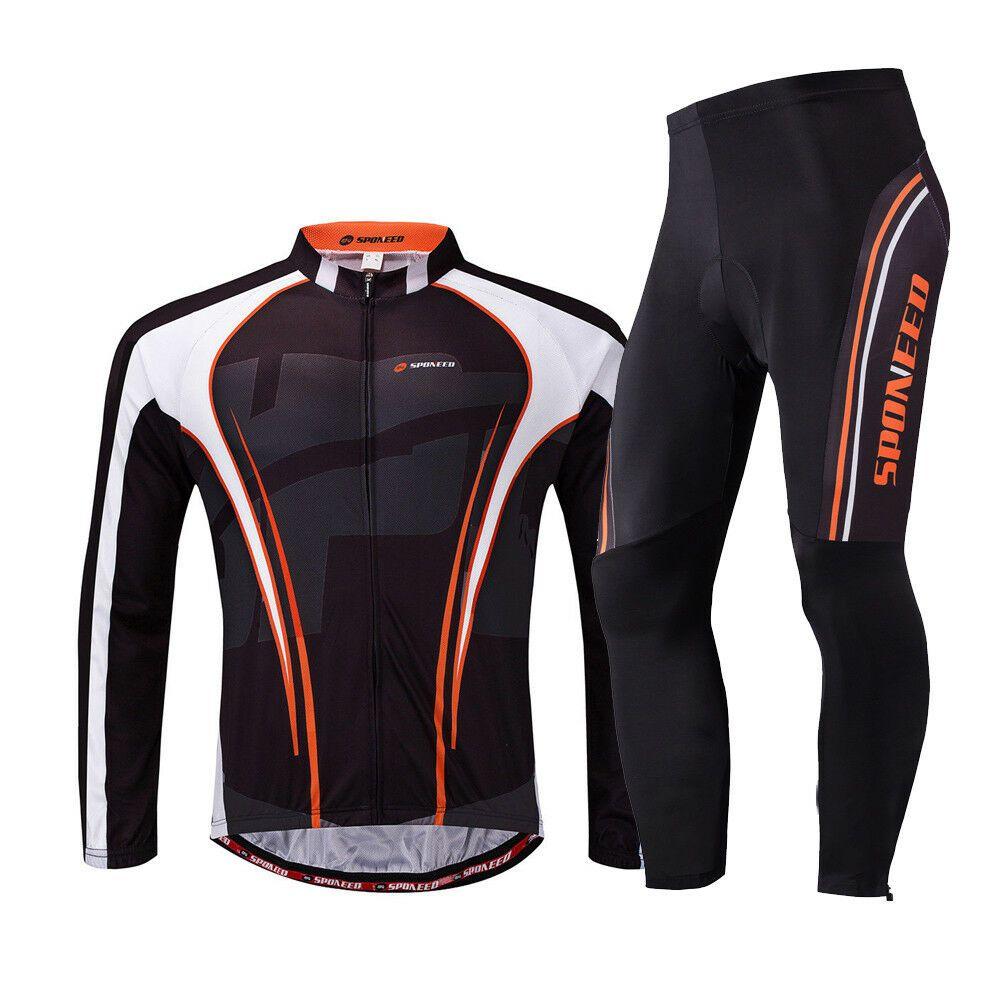 Cycling Jersey Sets Padded Men Bicycle Pants MTB Legging Bike Clothing Uniform