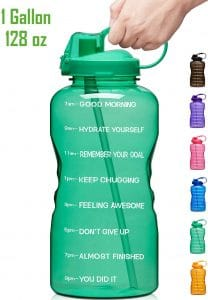 Top 10 Best One Gallon Insulated Jugs 2020 Review Motivational Water Bottle Best Water Bottle Gallon