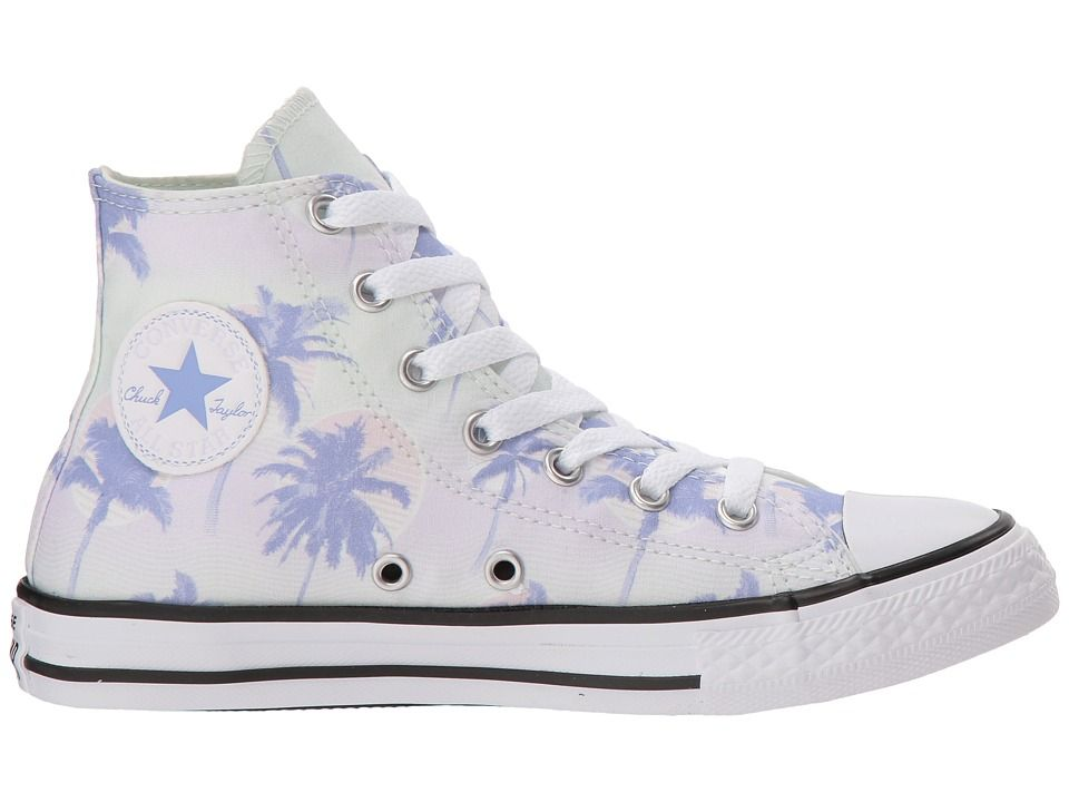 Converse Kids Chuck Taylor All Star Palm Trees Hi (Little