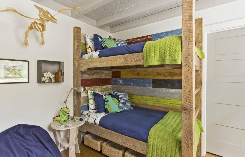 Varied Textures for a Colorful Bedroom