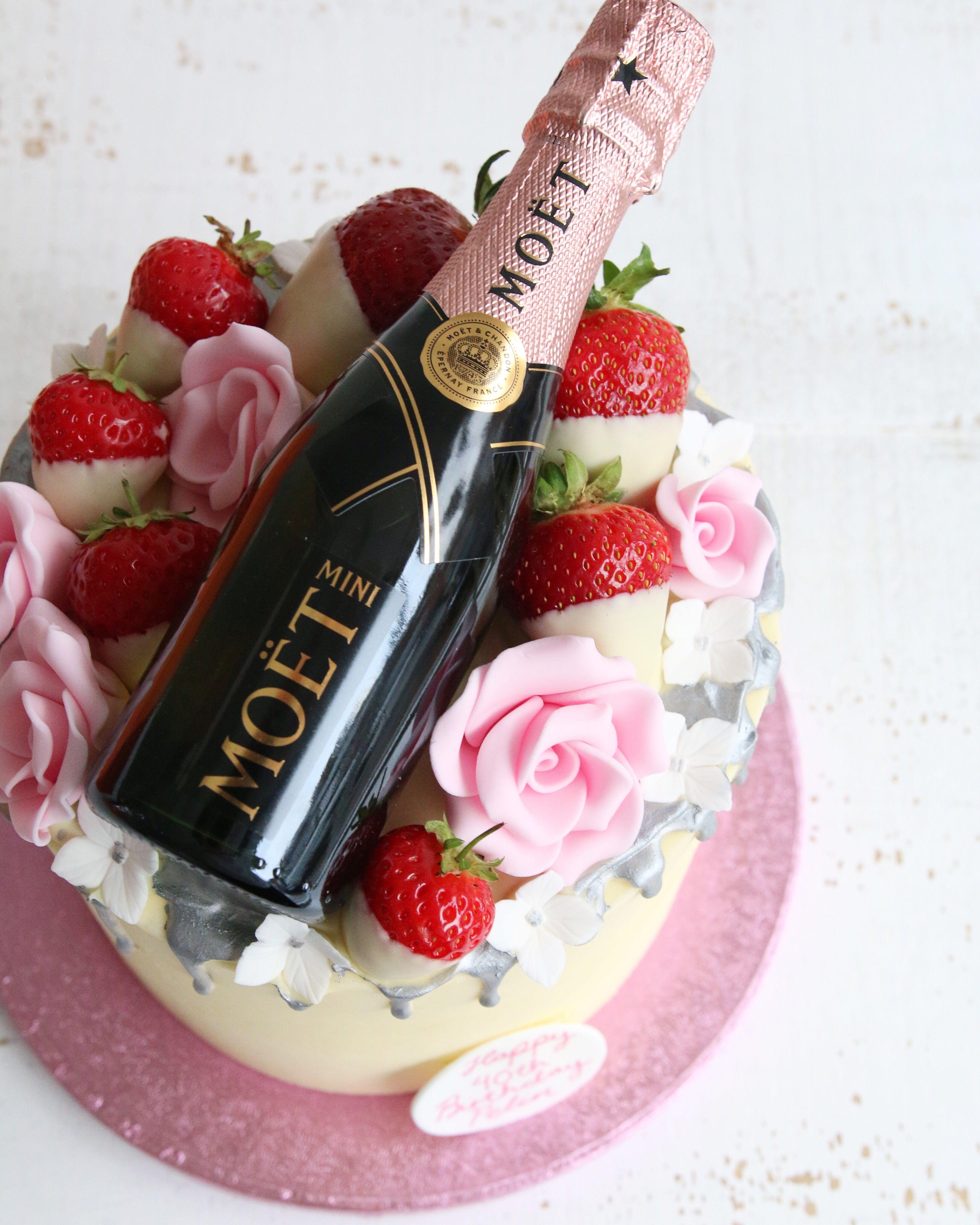 Buttercream Drip Cakes Champagne Birthday Drip Cakes Birthday Drip Cake