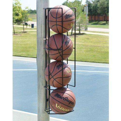 Basketball Butler 4 Ball Basketball Court Backyard Home Basketball Court Basketball Room
