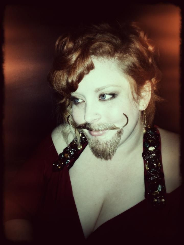Bearded Lady. Carnival Costumes.