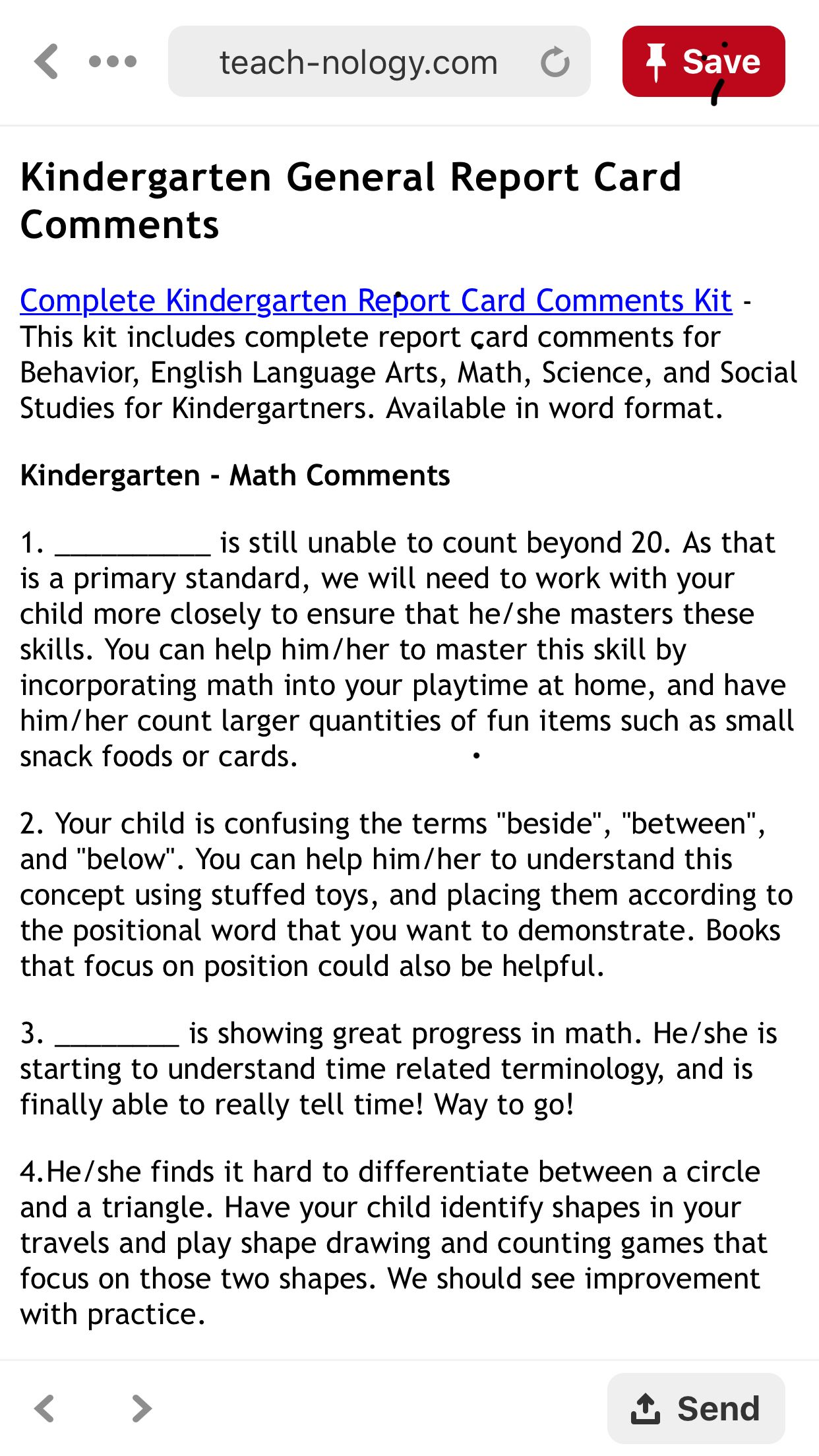 Pin by maddie leblanc on math homeschooling report card