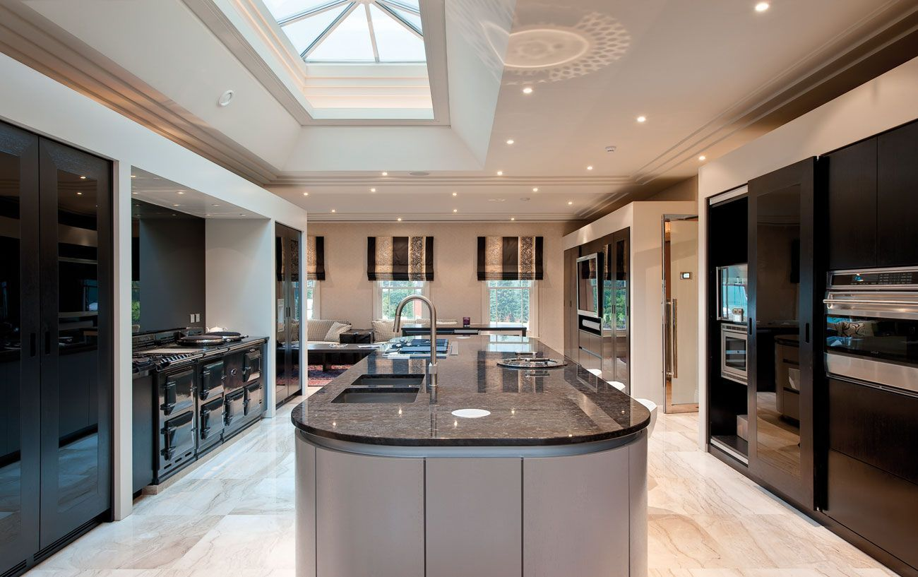 Huge kitchen - a bit too much though perhaps