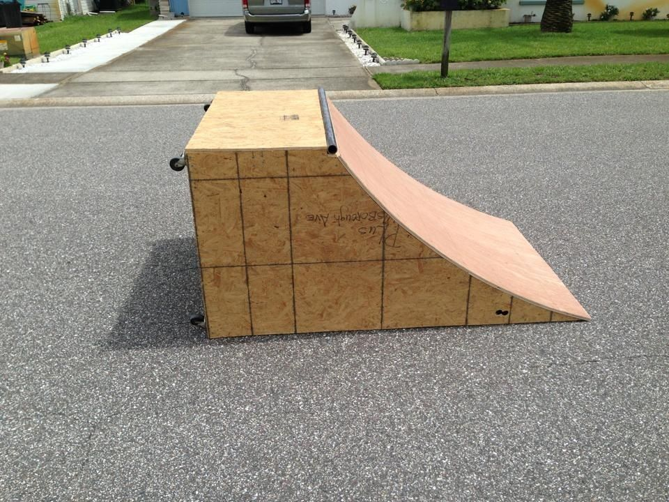 Skateboard Ramp My Woodworking Projects Pinterest