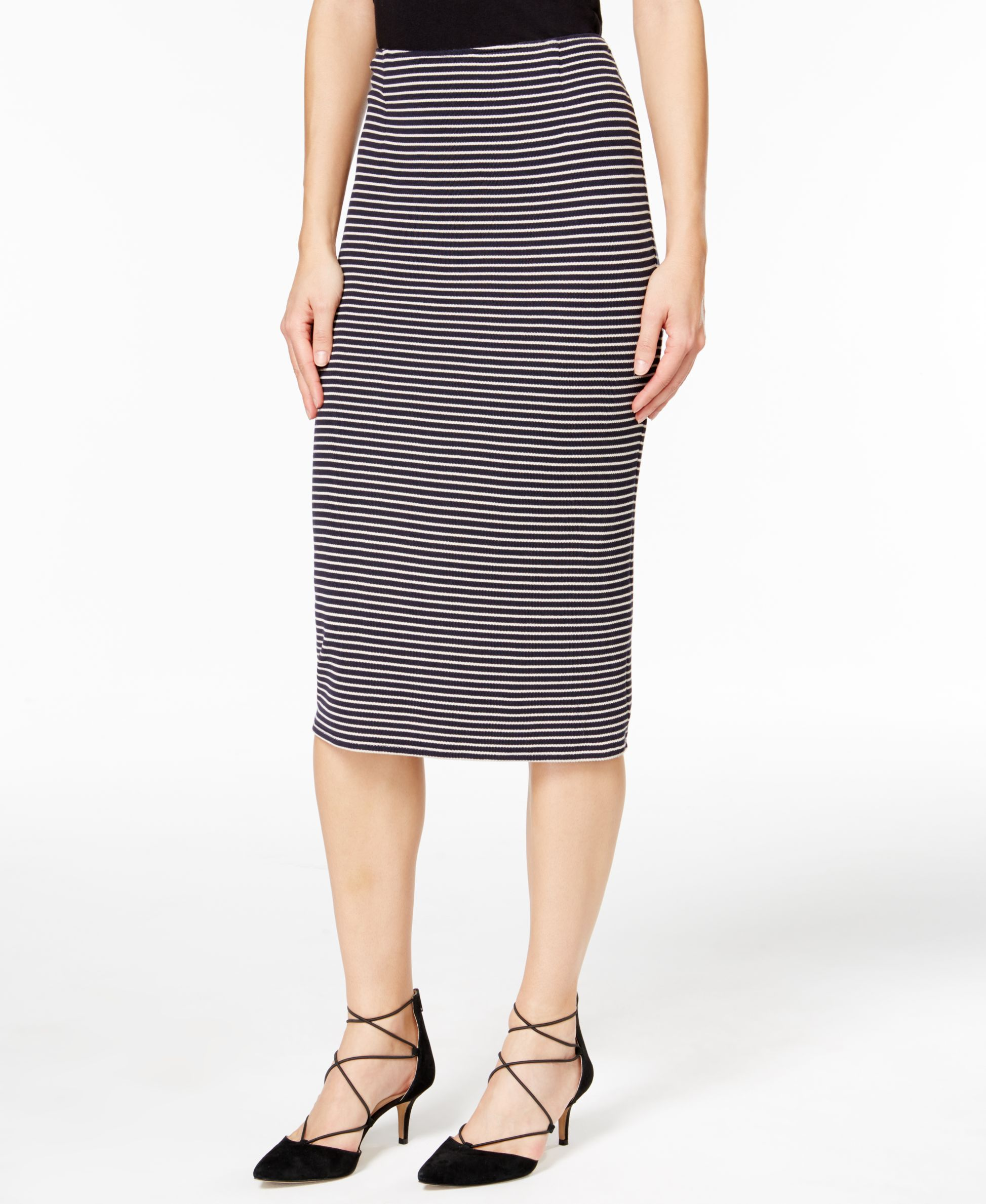 5fcb594e35 Weekend Max Mara Striped Pencil Skirt | Products | Stripe skirt ...
