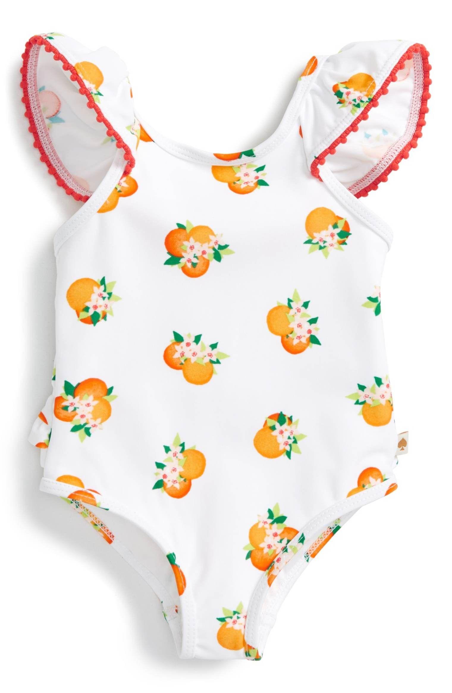 kate spade new york orangerie one piece swimsuit Baby Girls