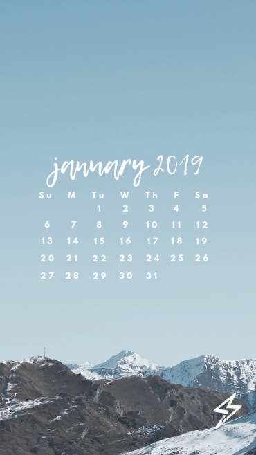 Free Downloads January wallpaper, Calendar wallpaper