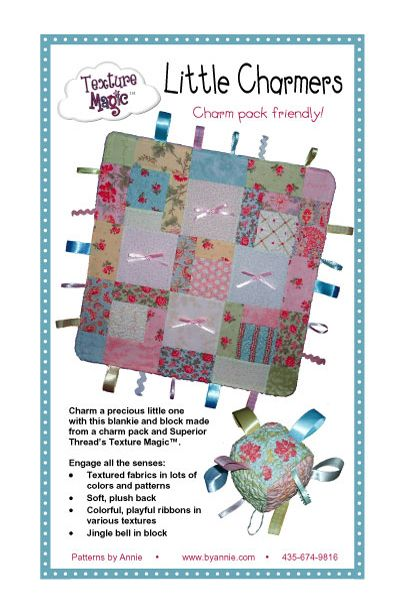 Patterns and supplies for quilters and fabric lovers: Shop | Category: Patterns by Annie | Product: Little Charmers