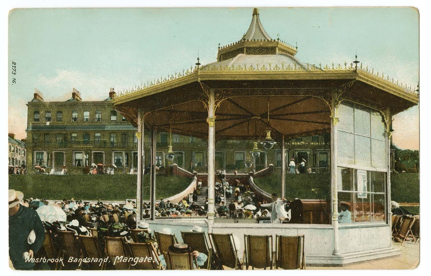 westbrook band stand sea view terrace margate victorian