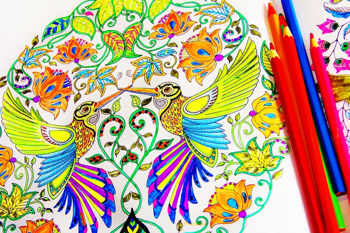Новый тренд в снятии стресса: раскраски для взрослых ...