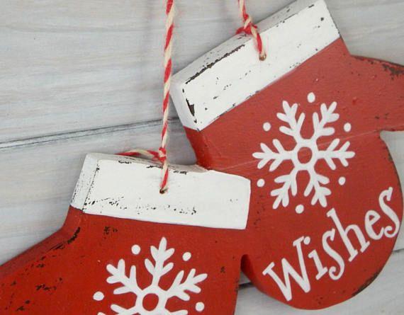 Christmas decor wood - Christmas decoration ideas - holiday decor - wood christmas decorations