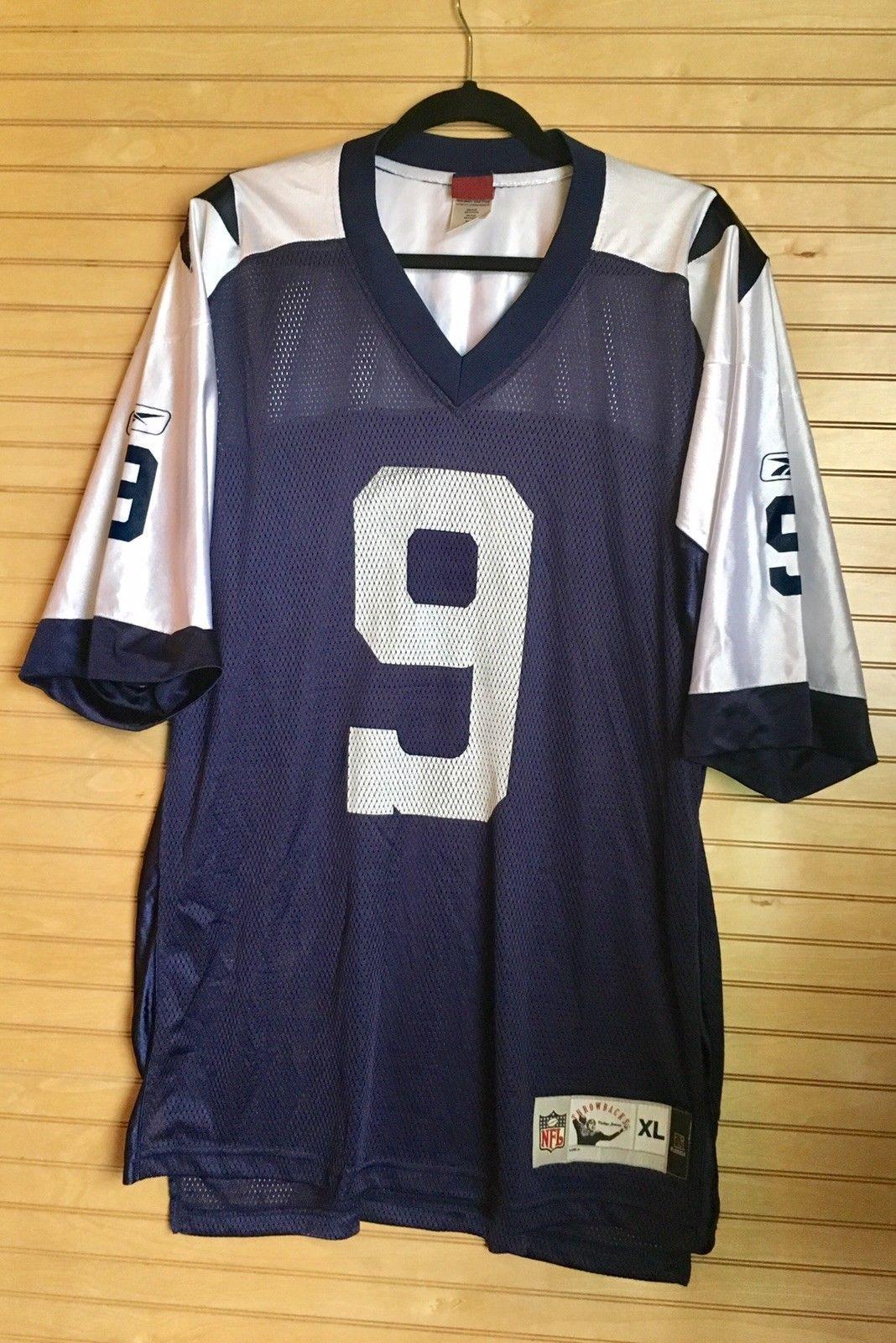 huge discount e2e41 4eddb Tony Romo Dallas Cowboys Reebok NFL Classic