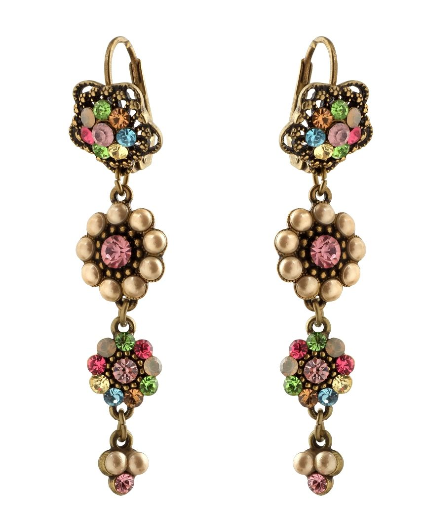 jewelry earrings multicolor crew multi jcrew normal gallery product lyst colourmetallic jewel stacked j
