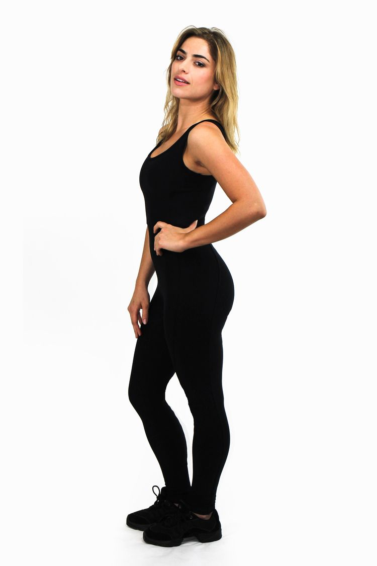 064d036e8c41 SHAMA JADE LUXURY JUMPSUIT INVISIBLE STYLE  BLACK  Similar in the front to  our Classic