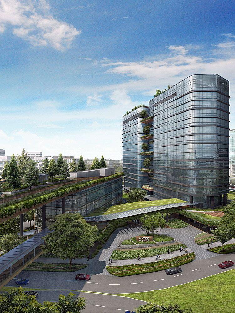 Why Woods Square, the first integrated office development