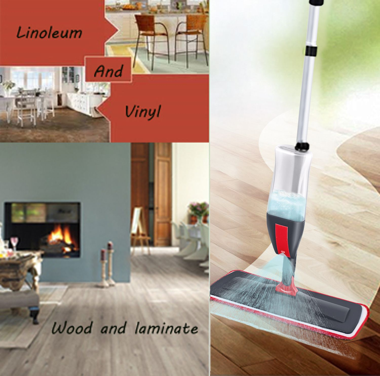 Buy Spray Mop 3 In 1 Spray Mop Kit Floor Mop Set With 3 Free Accessories 1 Reusable Microfiber Mop Pads Window Cleaner Microfiber Mop Pads Microfiber Mops