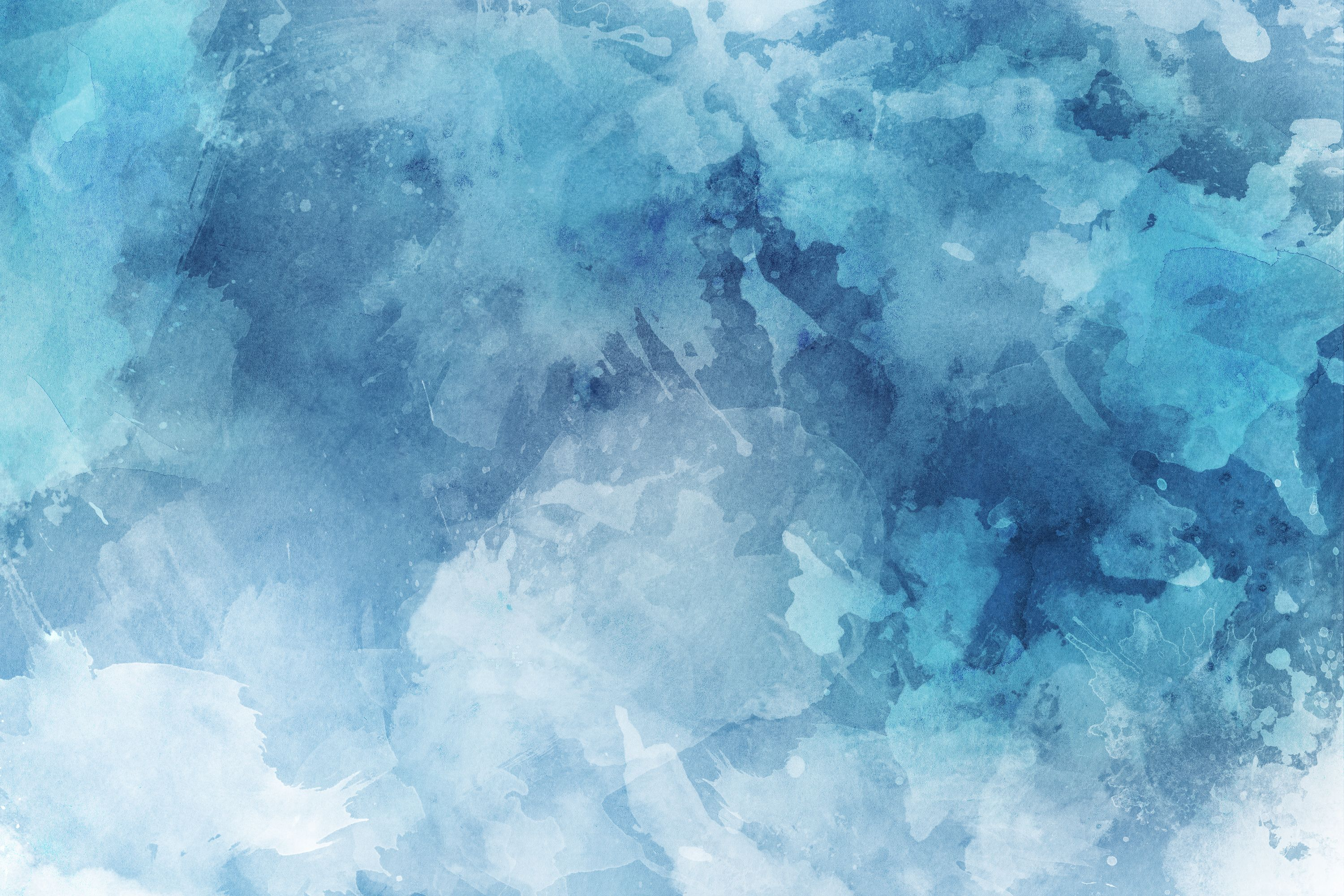Blue Texture Background In 2020 Watercolor Desktop Wallpaper