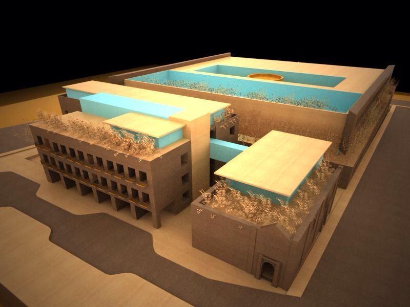 Palacio de gobierno Morelia Almazan y Arquitectos Asociados